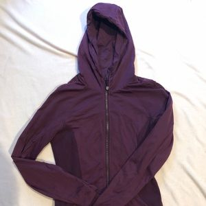 Lululemon Purple reversible warmup jacket size 6